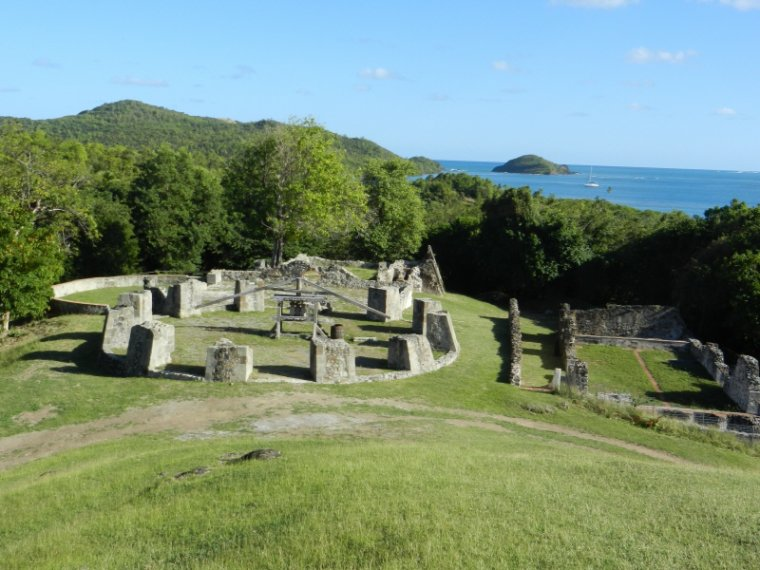 """546  La Martinique : le """"château Dubuc"""""""