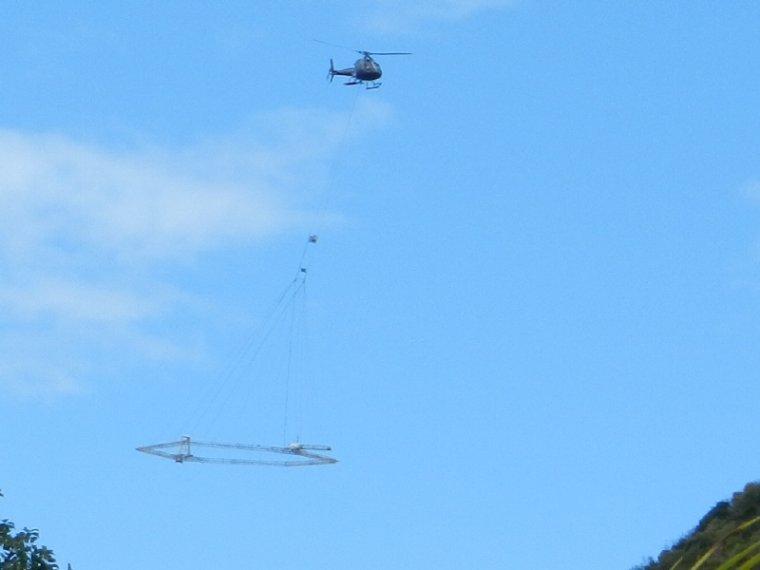 559  La Martinique : Hélicoptère