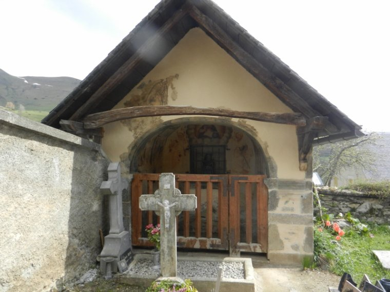 603  Luchon : l'église de Mont