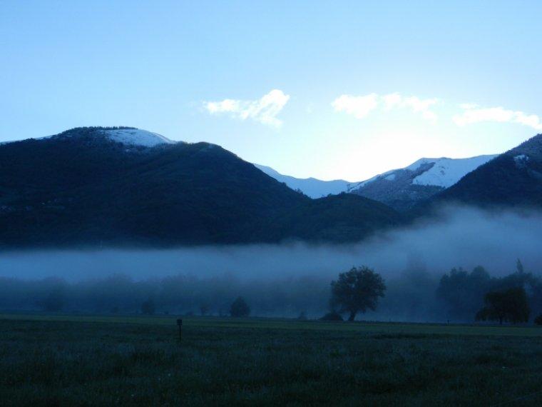 607   Luchon : lever de soleil