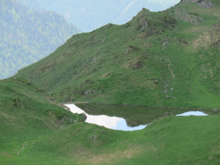 956   Cabane et lac de Roumingau