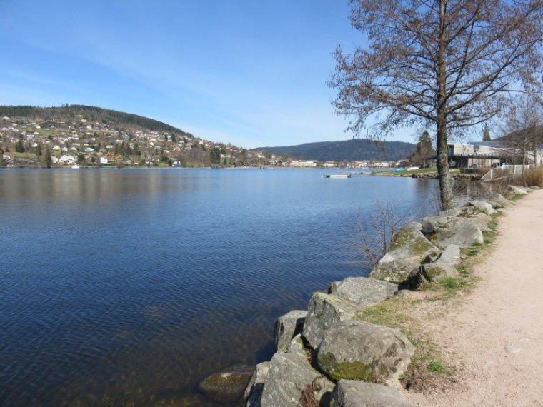 1068  Gérardmer: le tour du lac