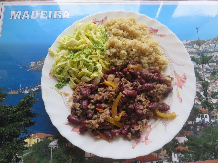 1254  Quinoa à la mexicaine