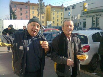Gréve NAO 21/02/12 a Lyon Nord