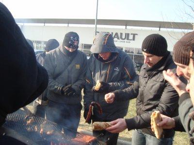 greve NAO Lyon Sud 07/02/2012
