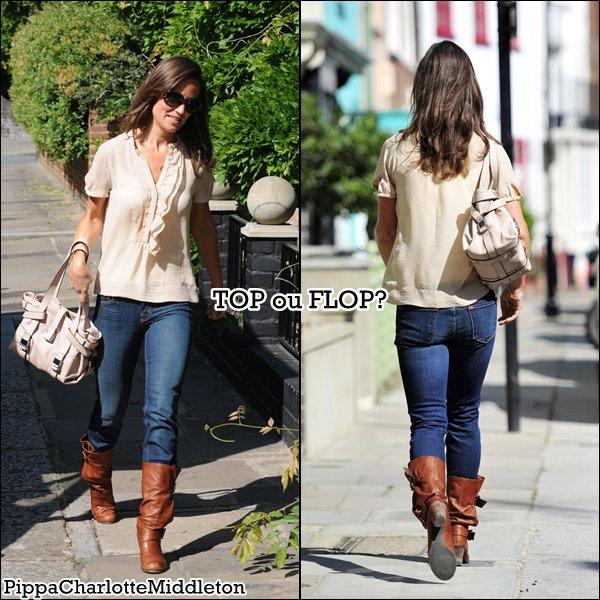 20 Mai 2011: Pippa se promenant dans les rues de Londres puis dans celle de Chelsea.