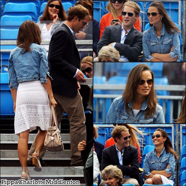 11 Juin 2011: Pippa et Kate ont assistées au mariage de Sam Waley Cohen et Bella Ballin à Berkshire.