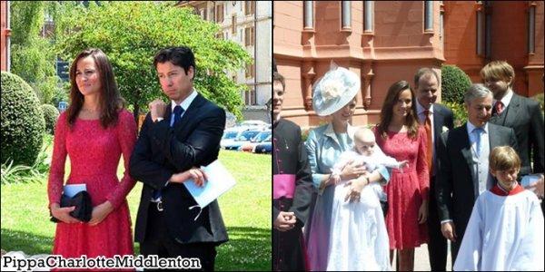 25 Juin 2011: Pippa était au baptême du fils de l'une de ses amies à Neuchâtel en Suisse.