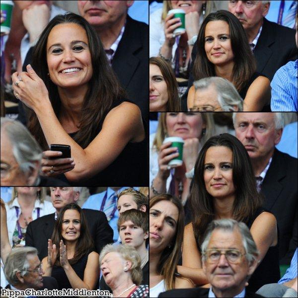 1er Juillet 2011: La belle brunette était encore à Wimbledon à Londres.