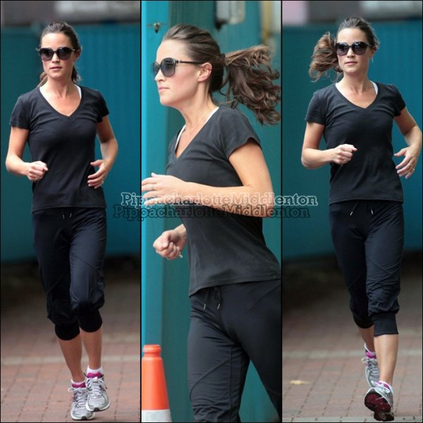 20 Juillet 2011: Plutard dans la journée Pippa est allée travailler dans le quartier de Chelsea.