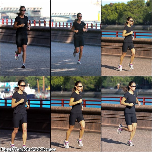 22 Juillet 2011: Pippa en balade dans les rues de Londres.