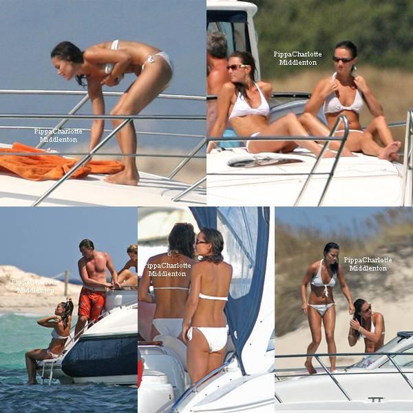 01.09.06 Pippa et sa famille ainsi que le Prince William étaient à Ibiza pour profiter de la mer et du soleil espagnol.