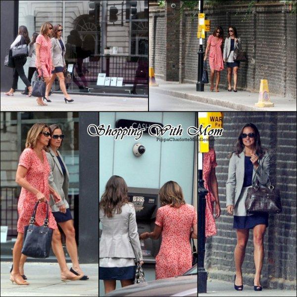 17 Août 2011: Pippa est allée faire des courses à Londres. Son sac ♥
