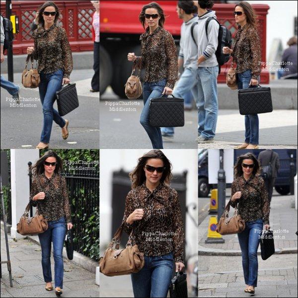 20/09/11: Pippa est allée travailler comme tout le monde.