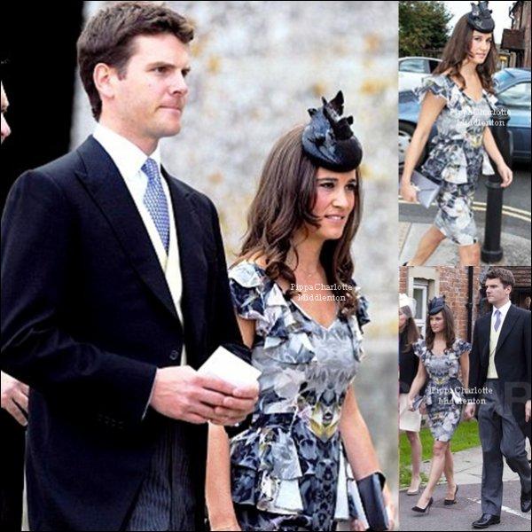 24/09/11: Pippa, Alex et Kate se son rendus à un mariage (encore).