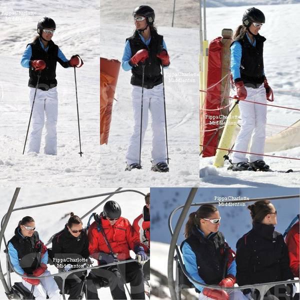 Fin Mars la famille Middlenton sont partis en vacances dans la station de ski de Mirebel dans les Alpes.