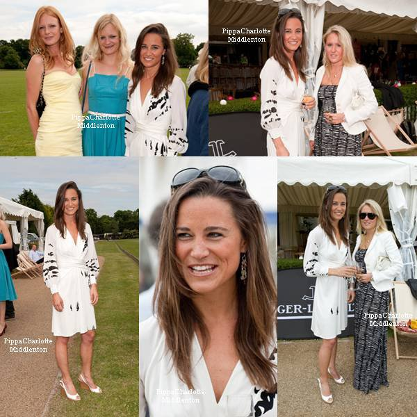 12.06.09: Pippa s'était rendue à un match de polo en l'honneur d'½uvre caritative au club Ham Polo de Richmond à Londres.