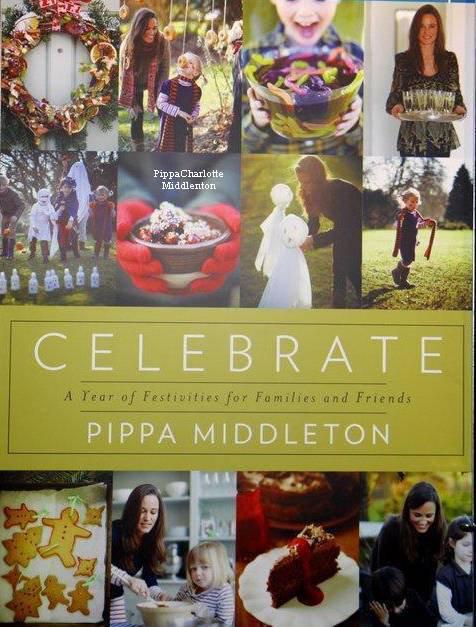 """Découvrez en exclusivité la couverture du livre """"Celebrate"""" de Pippa qui doit sortir au mois d'Octobre. ♥"""