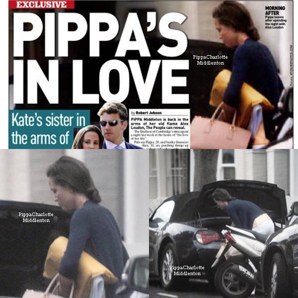 30.06.12: Pippa a été aperçue alors qu'elle quittait le domicile de son ex petit ami Alex Loudon tôt dans la matinée