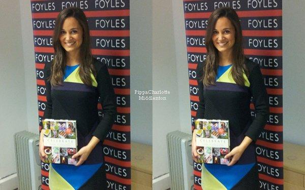 25.10.12:Journée chargée pour Pippa en effet elle a assurer la promotion de son livre à Londres.  Elle est magnifique ♥ ♥
