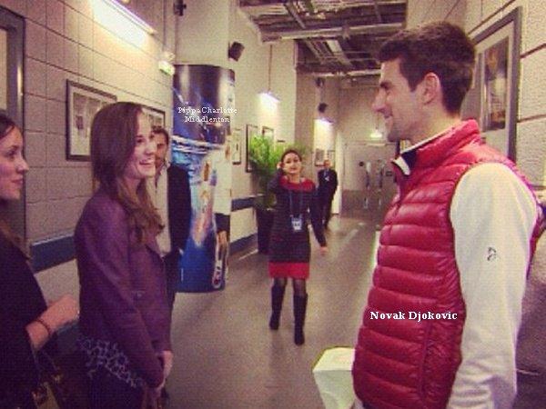 12.11.12: Pippa et James étaient dans les gardins pour voir la finale ATP World Tour à Londres