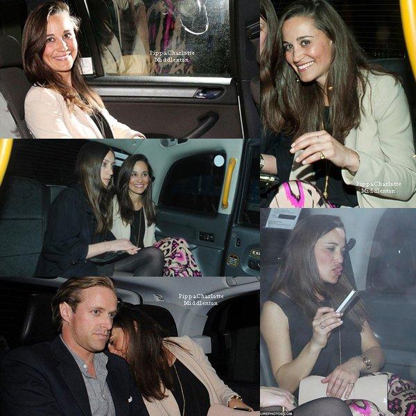 """09.05.13: C'est vers 3h du matin que Pippa a quitté le club 'LouLou's"""" avec des amis."""