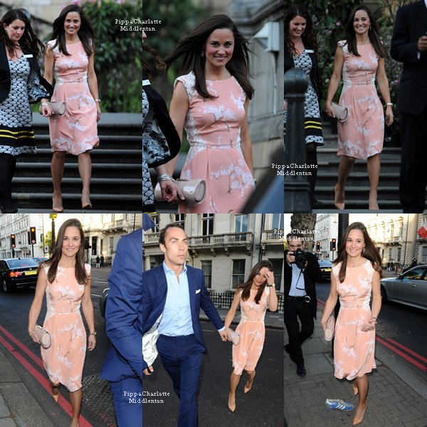 "22.05.13: Pippa et James se sont rendu à la ""Summer Party Waitrose"" à Londres."