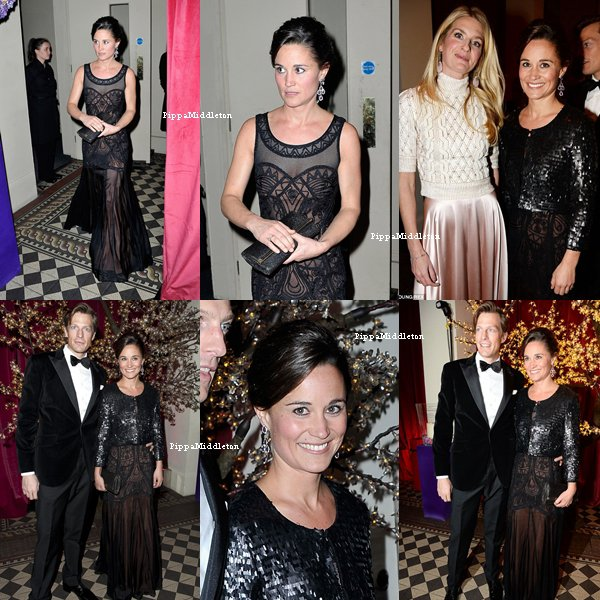 20.11.13: Pippa et Nico se sont rendu au Sugarplum Ball Gala à Londres.