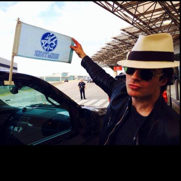 Ian au défilé de la nouvelle Orléan