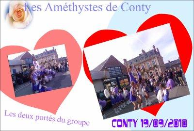 Prestation de CONTY 19/09/2010