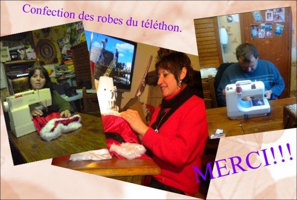 ATELIER COUTURE POUR LE TELETHON