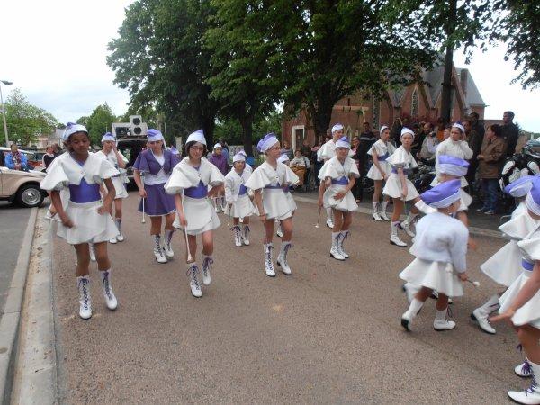 Défilé du BOSQUEL le 03/06/2012