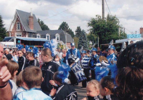 Défilé carnavalesque de REALCAMP ( 76) 29/07/2012