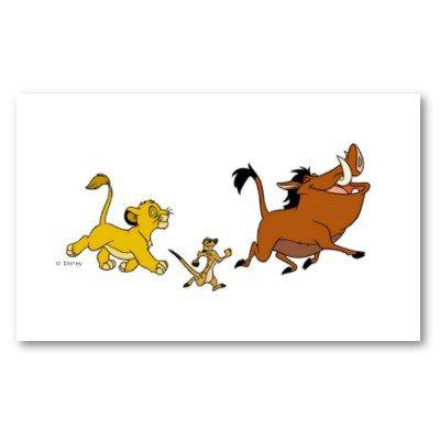 Timon et Pumba