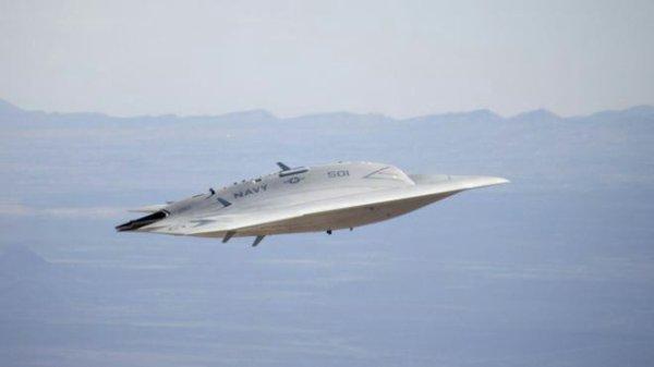 drone de la navy ....  donc ne pas confonde avec ovni  ;)   ..