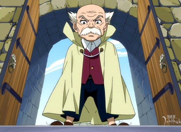 Fairy Tail School Crim: Chapitre 4 Le directeur