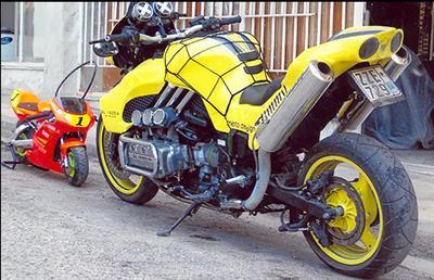 goldwing 1200 cc bien fait heinnn
