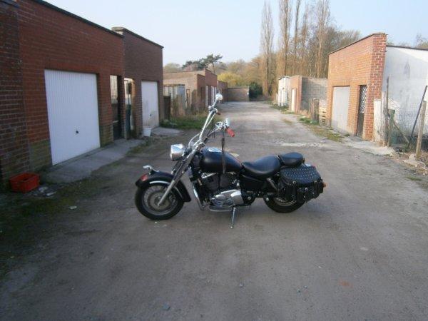 shadow 1100cc modifier annee 98