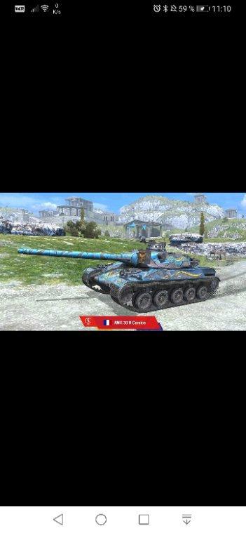 """Mon plaisir à côté ce jeux """" world of tanks blitz"""""""