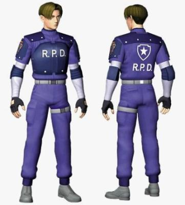 Léon scott kennedy(tenue RPD re2):