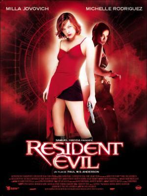 Voici le 1er resident evil en film: