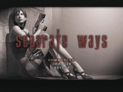 Débloquer le mode Separate ways 3  (re4 wii edition et version ps2):