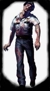 Un zombie de re2: