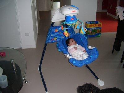 enfin notre chez nous le 13 janvier 2010