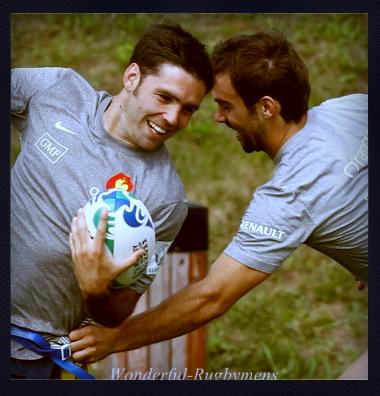 Morgan Parra & Dimitri Yachvili ♥
