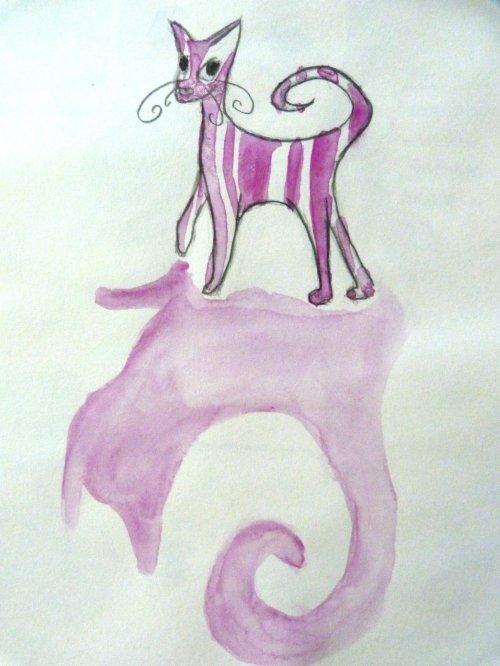 Croquis de chat, dessin de lapin crétin.. Bref, j'ai pas de strip en ligne.