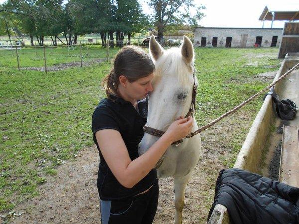 moi et zuma petit cheval connemara