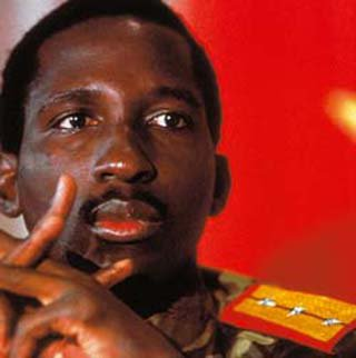 Thomas Sankara, le Che Guevara africain.