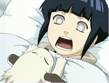 Akamaru et Hinata