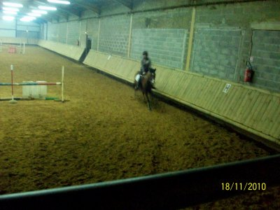 Moi a l'équitation